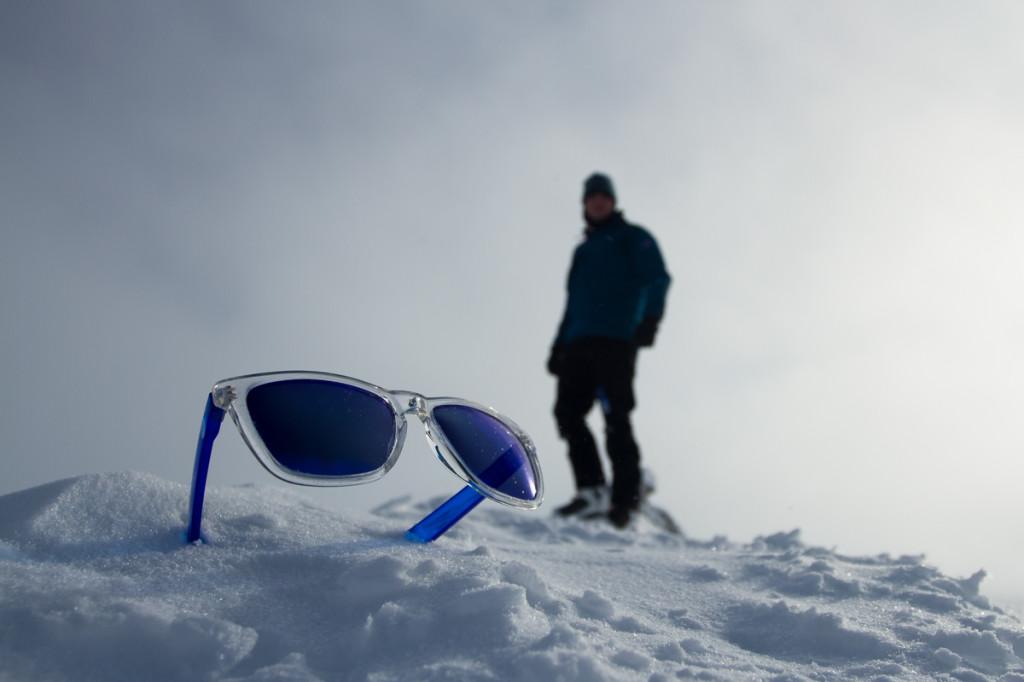 With Sunski on top of Trollsteinen
