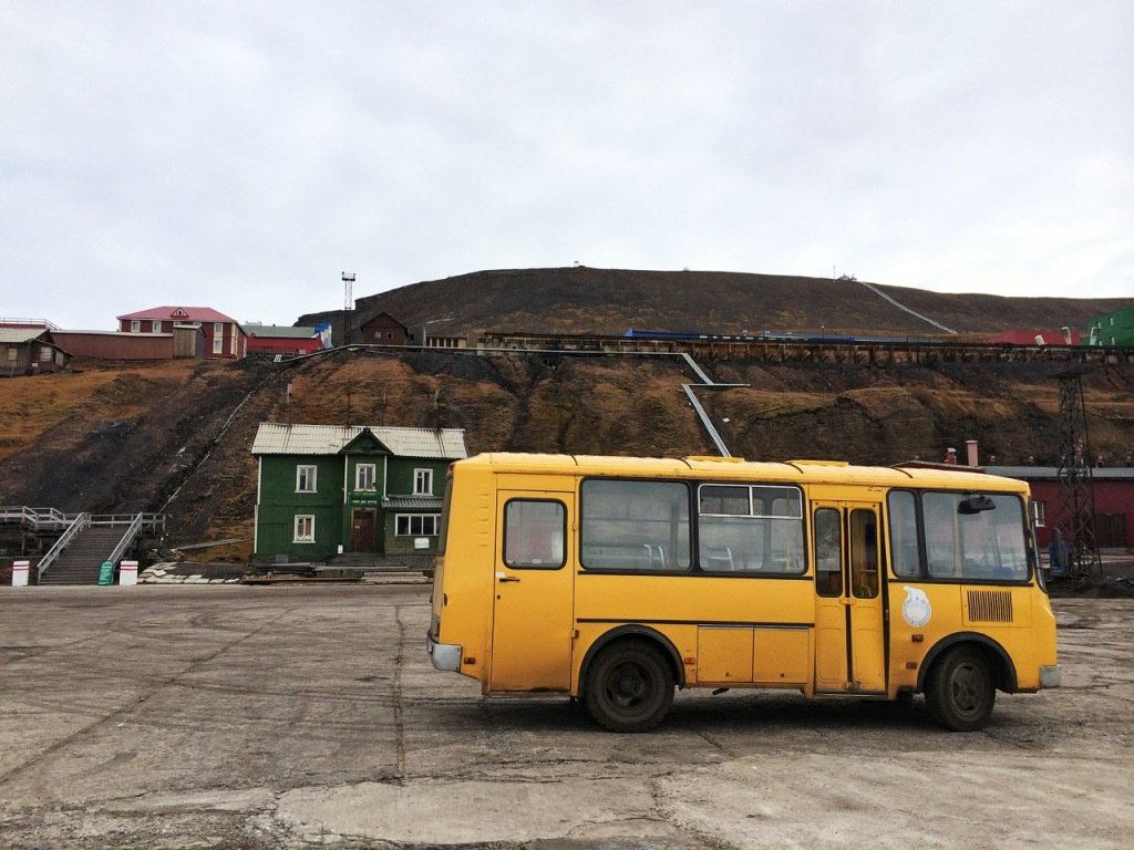 Barentsburg welcome wagon