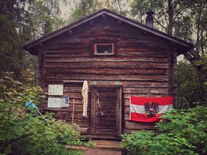 A cabin full of Austrians